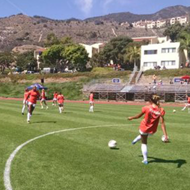 TARI FRAHM ROKUS FIELD – PEPPERDINE UNIVERSITY